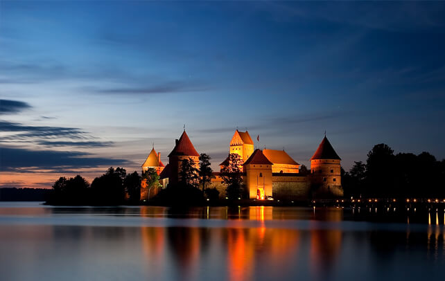 Trakai - historic capital of Lithuania