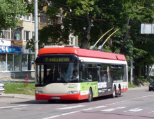 Trolleybus-in-Vilnius